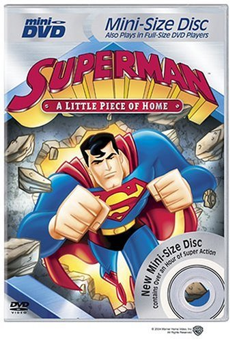 Little Piece Of Home Superman Clr Mini DVD Nr