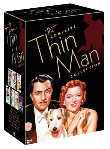 Thin Man Collection Powell Loy Bw Nr 7 DVD