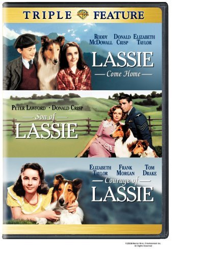 Lassie Come Home Son Of Lassie Warner Triple Feature Clr Nr 3 On 1