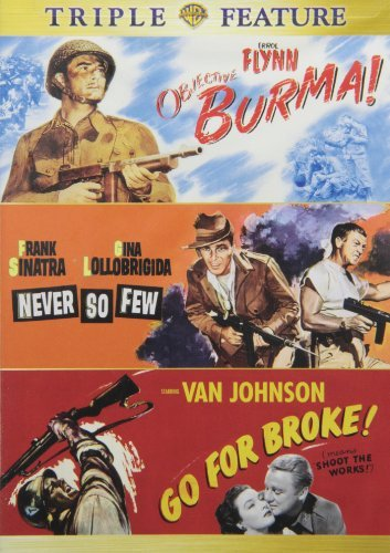 Objective Burma Never So Few G Warner Triple Feature Clr Nr 3 On 1