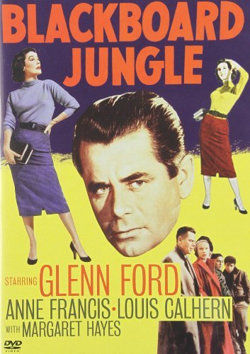 Blackboard Jungle Ford Francis Calhern Poitier M Bw Ws Nr