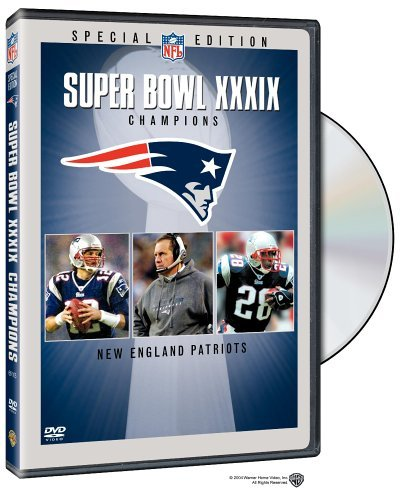 New England Patriots Super Bowl Xxxix Champions DVD Nr