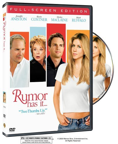 Rumor Has It Aniston Costner Maclaine Clr Pg13
