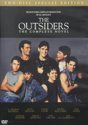 Outsiders Swayze Howell Dillon Cruise Pg13 2 DVD Extended Ed.