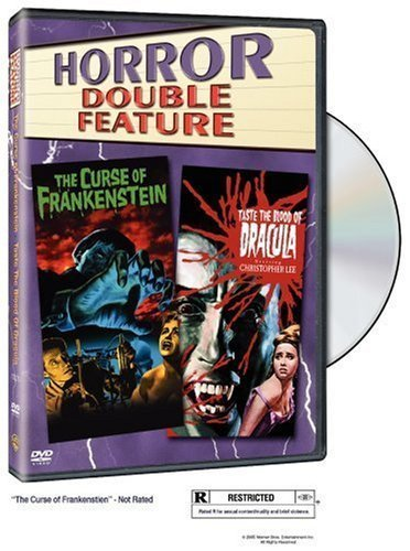Curse Of Frankenstein (1957) T Horror Double Feature Clr Nr 2 DVD