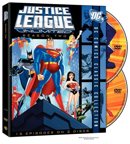 Justice League Unlimited Seas Justice League Unlimited Nr