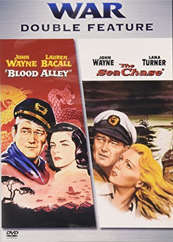 Blood Alley Sea Chases War Double Feature Nr 2 DVD