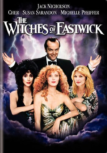 Witches Of Eastwick Cher Nicholson Pfeiffer Sarand DVD R Ws Fs