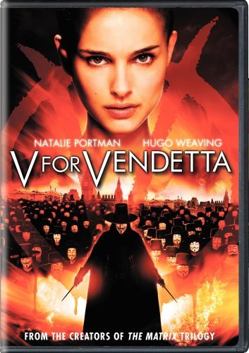 V For Vendetta Portman Weaving Hurt Graves DVD R Ws