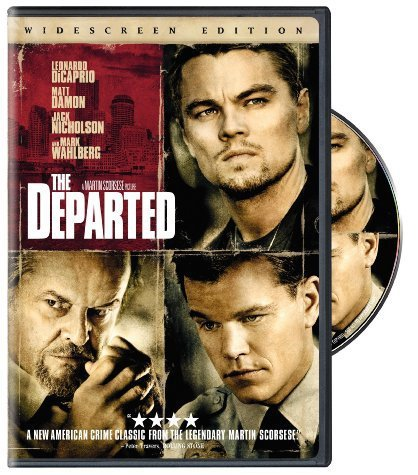 Departed Dicaprio Damon Nicholson Wahlberg DVD R Ws