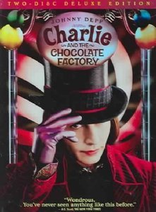 Charlie & The Chocolate Factory Depp Carter Highmore DVD Deluxe Pg13 Ws
