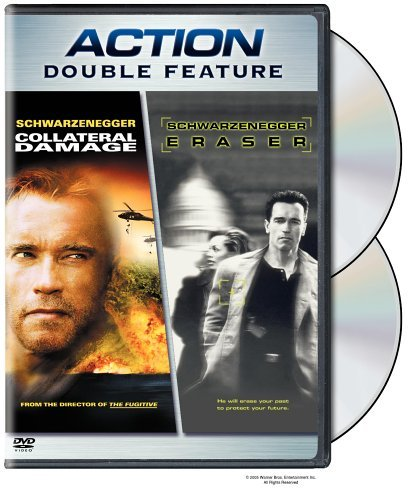 Collateral Damage Eraser Action Double Feature Nr 2 DVD