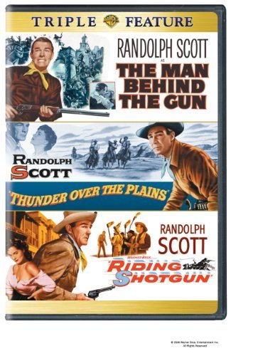 Man Behind The Gun Thunder Ove Warner Triple Feature Clr Nr 3 On 1