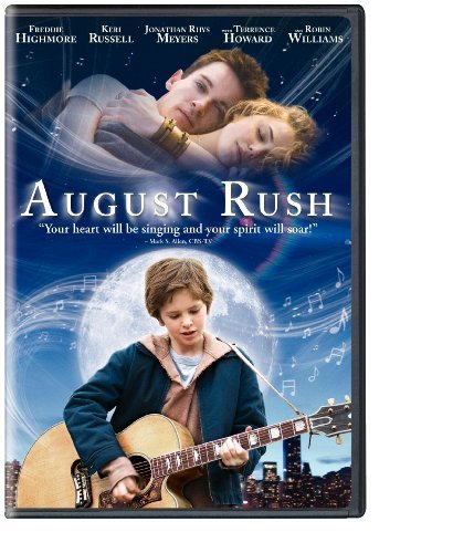 August Rush Williams Howard Russell DVD Pg Ws Fs