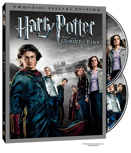Harry Potter & The Goblet Of F Radcliffe Coltrane Fiennes Clr Ws O Sleeve Pg13 2 DVD Speci