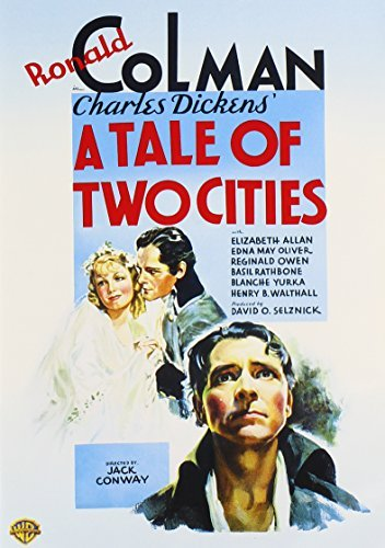 Tale Of Two Cities (1935) Rathbone Oliver Colman Bw Nr