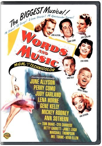 Words & Music Sothern Garland Allyson Nr