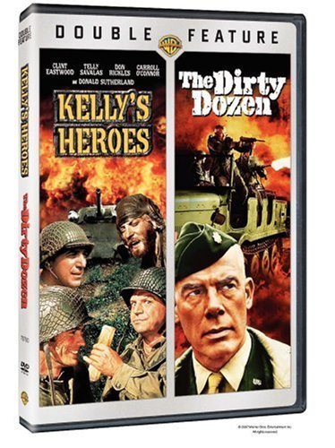 Kelly's Heroes Dirty Dozen Warner Double Features Clr Nr 2 DVD