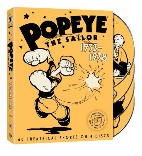 Popeye The Sailor Volume 1 1933 1938 DVD