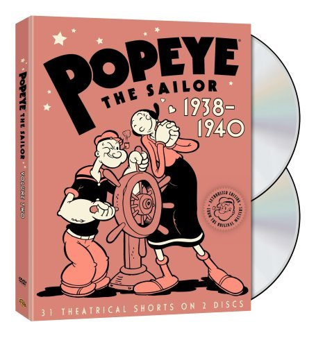 Popeye The Sailor Vol. 2 1938 Popeye The Sailor Nr 2 DVD