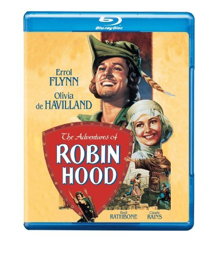 Adventures Of Robin Hood De Havilland Claude Blu Ray Ws Nr