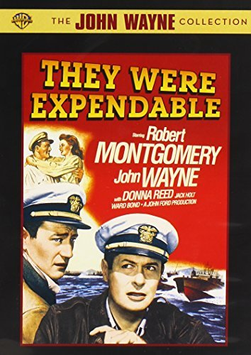They Were Expendable Wayne Montgomery Reed Holt Bon Bw Nr