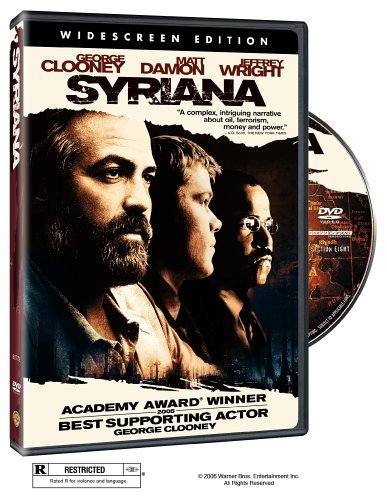 Syriana Clooney Plummer Cooper Clr Ws R