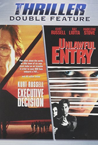 Executive Decision Unlawful En Thriller Double Feature R 2 DVD