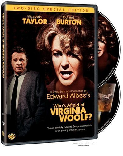 Who's Afraid Of Virginia Woolf Taylor Burton Clr Ws Nr 2 DVD Special