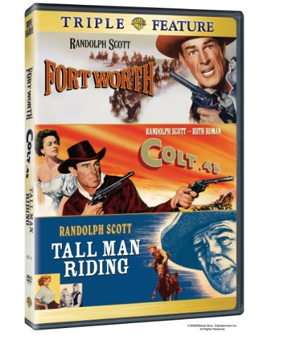 Colt 45 Tall Man Riding Forth Warner Triple Feature Clr Nr 3 On 1