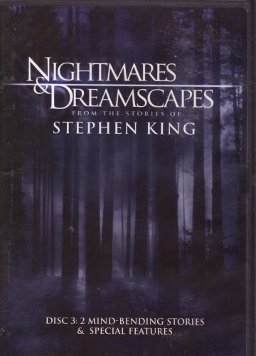 Nightmares & Dreamscapes Disc 3 Mind Bending Stories & Special Features