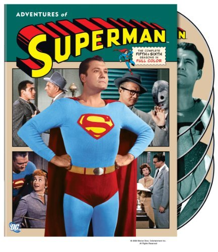 Adventures Of Superman Seasons 5 6 DVD