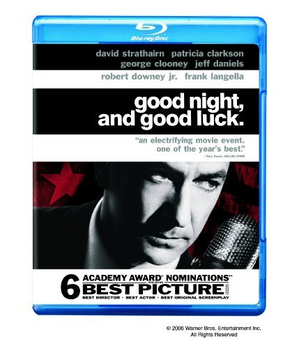 Good Night & Good Luck Clarkson Daniels Strathaim Blu Ray Ws Pg