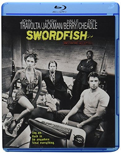 Swordfish Travolta Jackman Berry Cheadle Blu Ray Ws R