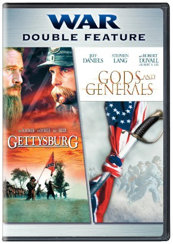 Gettysburg Gods & Generals War Double Feature Clr R 2 DVD