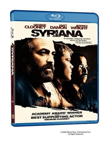 Syriana Clooney Plummer Cooper Blu Ray Ws R