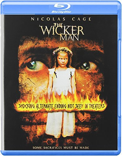 Wicker Man Cage Burstyn Campbell Blu Ray Ws Pg13