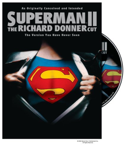 Superman 2 Reeve Kidder Hackman Beatty DVD Nr Ws