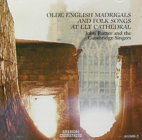 John Rutter Old English Madrigals & Folk S Rutter Cambridge Singers