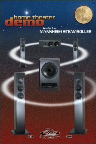 Mannheim Steamroller Home Theater Demo DVD Audio Video Double Sided DVD