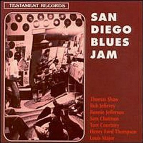 San Diego Blues Jam San Diego Blues Jam Shaw Jeffrey Jefferson Major Incl. Bonus Tracks