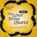 Lener String Quartet Vol. 4