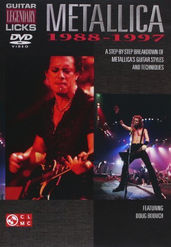 Guitar Legendary Licks 1988 97 Metallica Nr