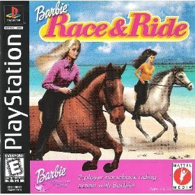 Psx Barbie Race & Ride E