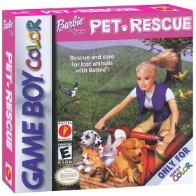 Gameboy Color Barbie Pet Rescue E