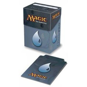 Deck Box Mana Blue Water