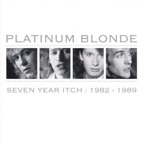 Platinum Blonde 1982 89 Seven Year Itch Import