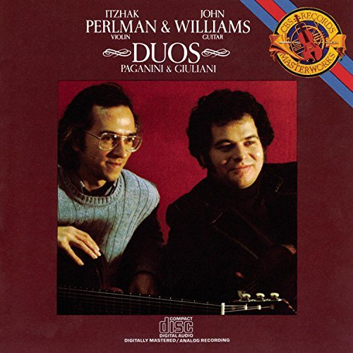 Paganini Giuliani Duos For Violin & Guitar Perlman (vn) Williams (gtr)