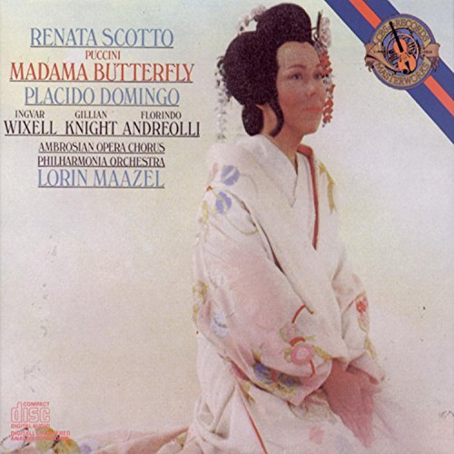 G. Puccini Madama Butterfly Comp Opera Scotto Domingo Wixell Maazel Po