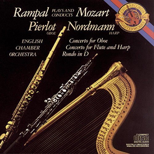 W.A. Mozart Concertos For Oboe Pierlot (ob) Rampal (fl) English Co